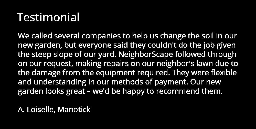 soil testimonial