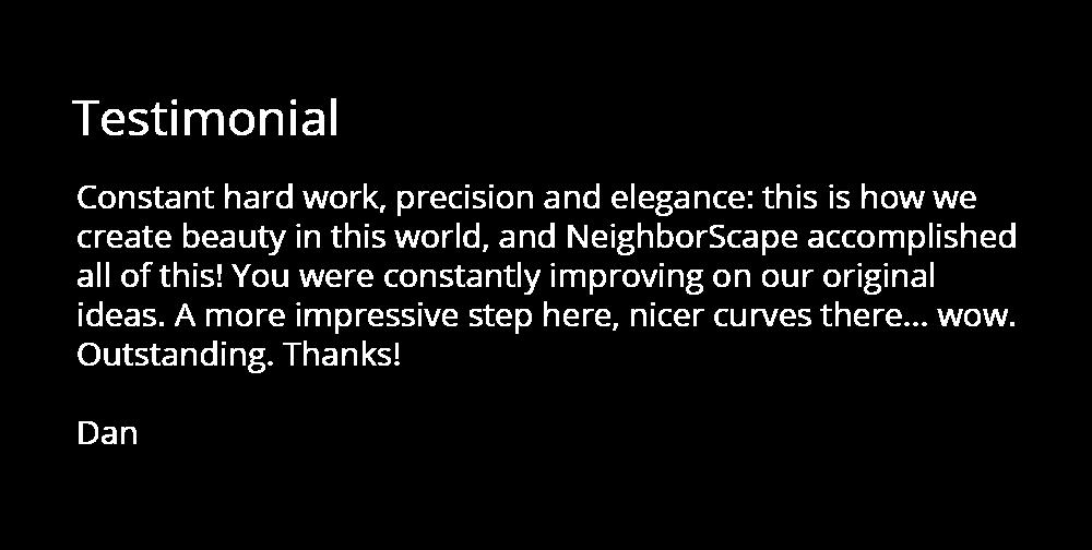 elegance testimonial
